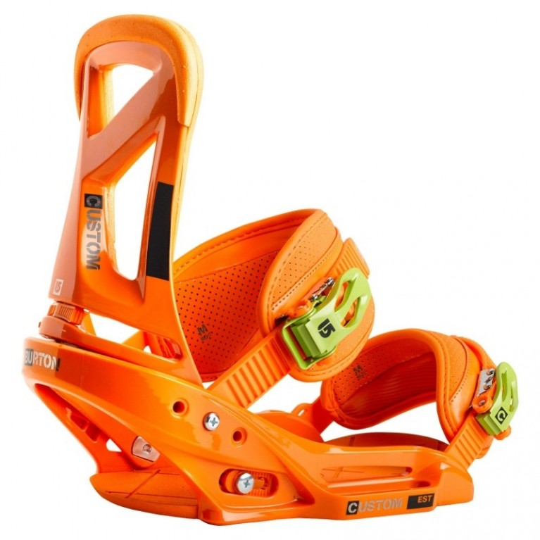Крепления Burton Custom EST Orange Orange