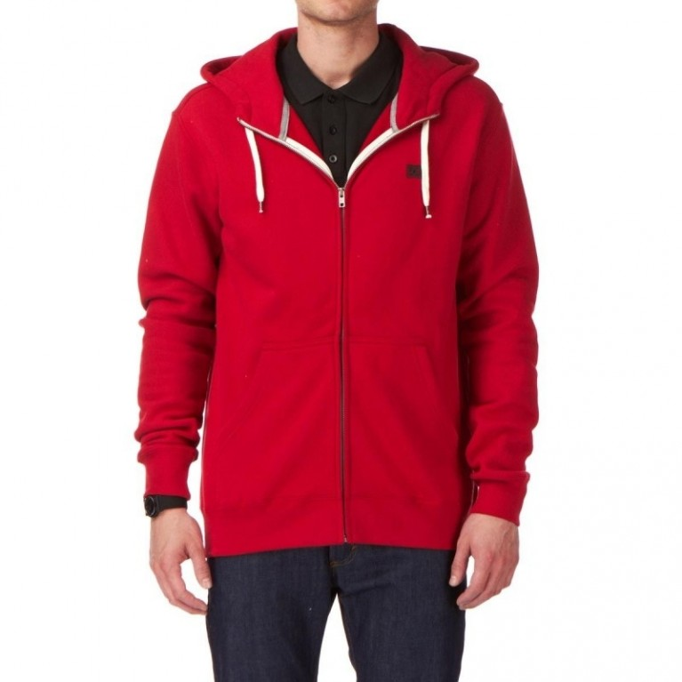 Толстовка DC Keystone 3 Zip Hoody - Deep Red