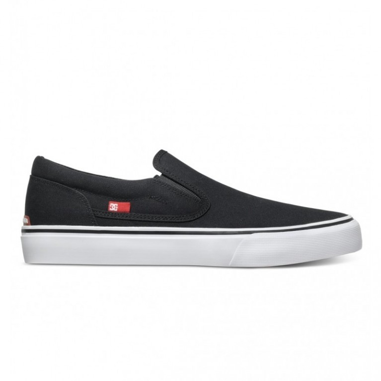 Кеды DC Trase Slip-On TX black/white