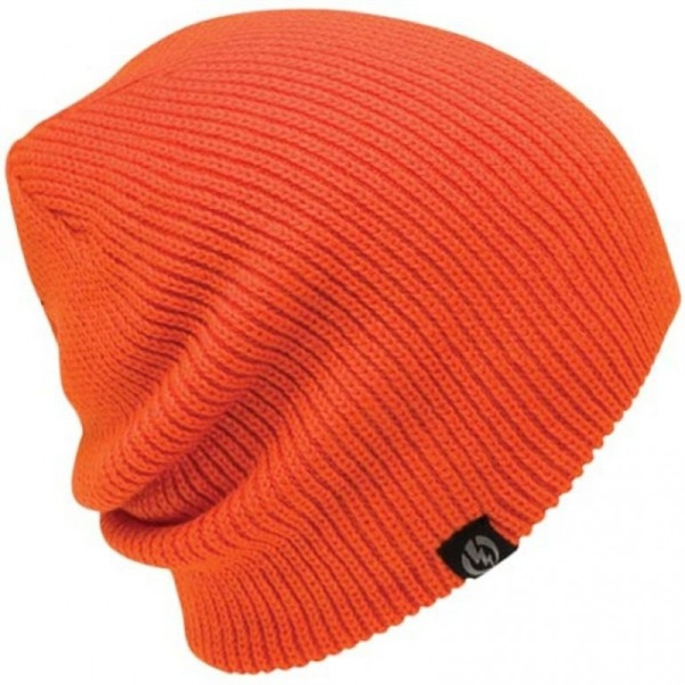 Шапка Electric Gauges Solid Knit Beanie - Orange