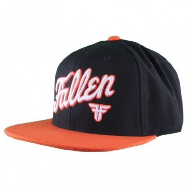 Кепка Fallen Fury Starter Hat Black/Orange/White