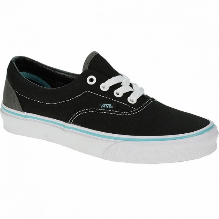 Кеды Vans Era (Pop) black/blue curacao