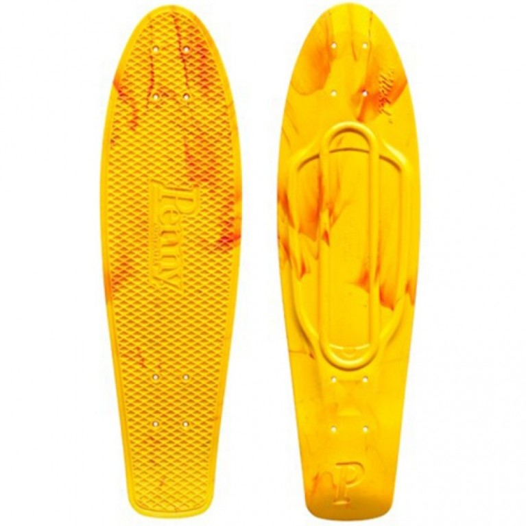 Дека Penny Deck Original Marble Yellow/Red 22