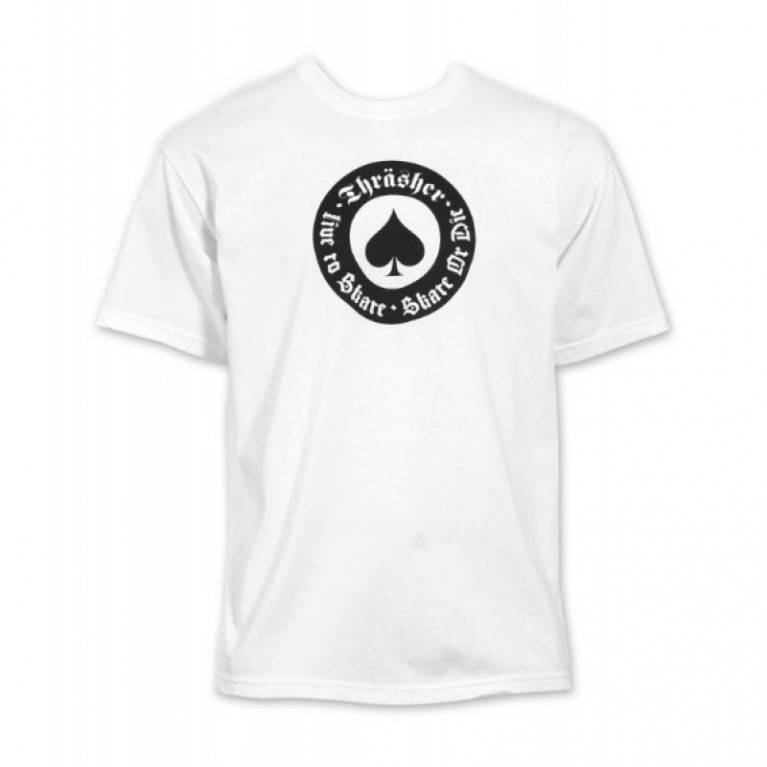 Футболка Thrasher Oath T-Shirt White