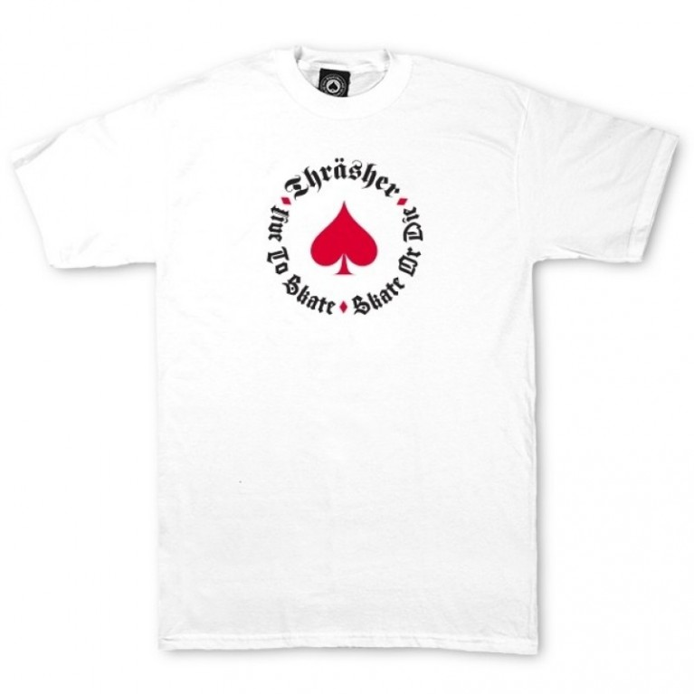 Футболка Thrasher New Oath T-SHIRT white