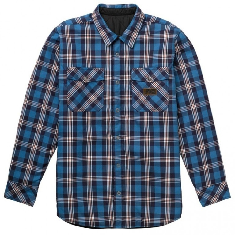 Куртка-Рубашка Analog Variant Flannel Shirt Glacier blue