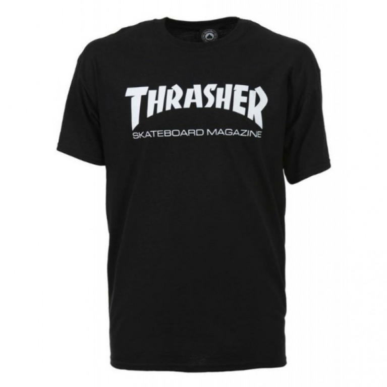 Футболка Thrasher Skate Mag Black