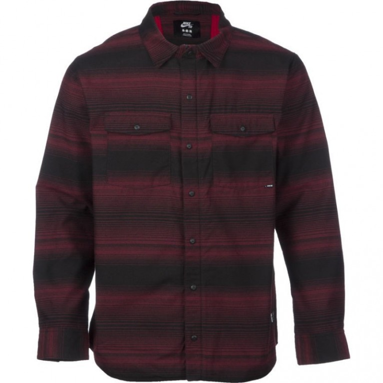 Рубашка NIKE SB Dimension Flannel /Team Red Gym Red