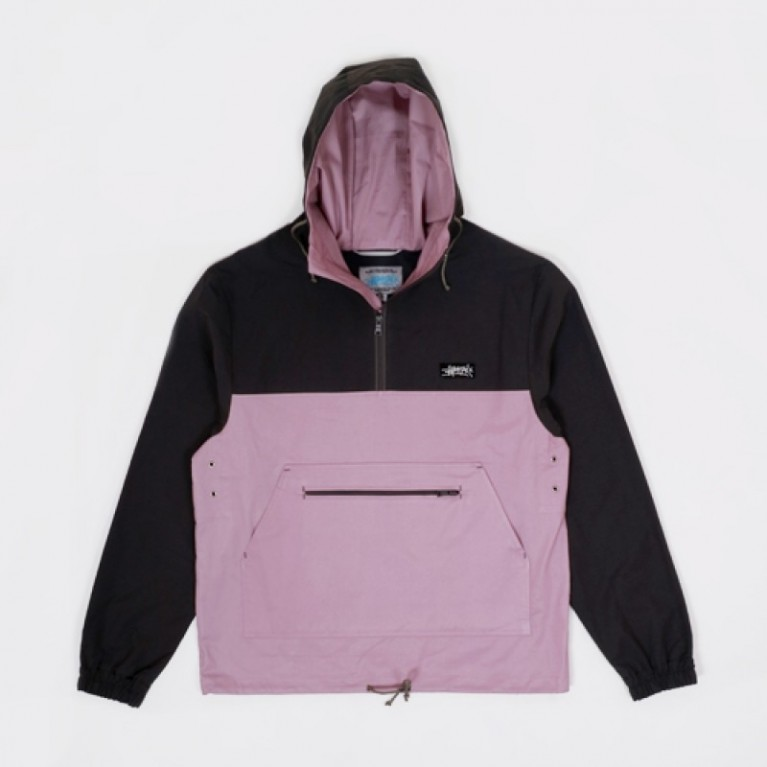 Анорак Anteater Anorak Cotton Grey Violet