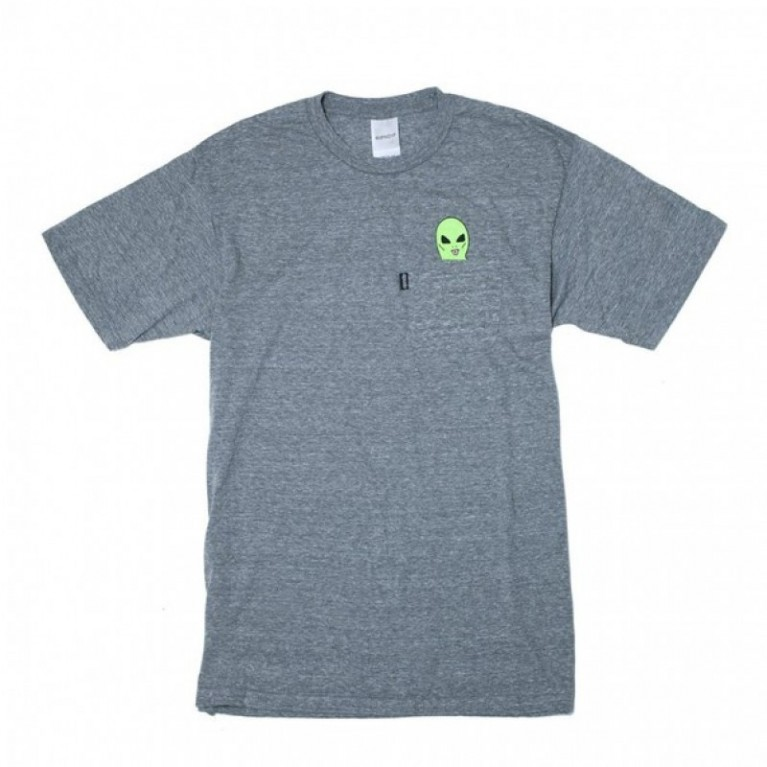 Футболка Ripndip Lord Alien Pocket Tee Athletic Grey