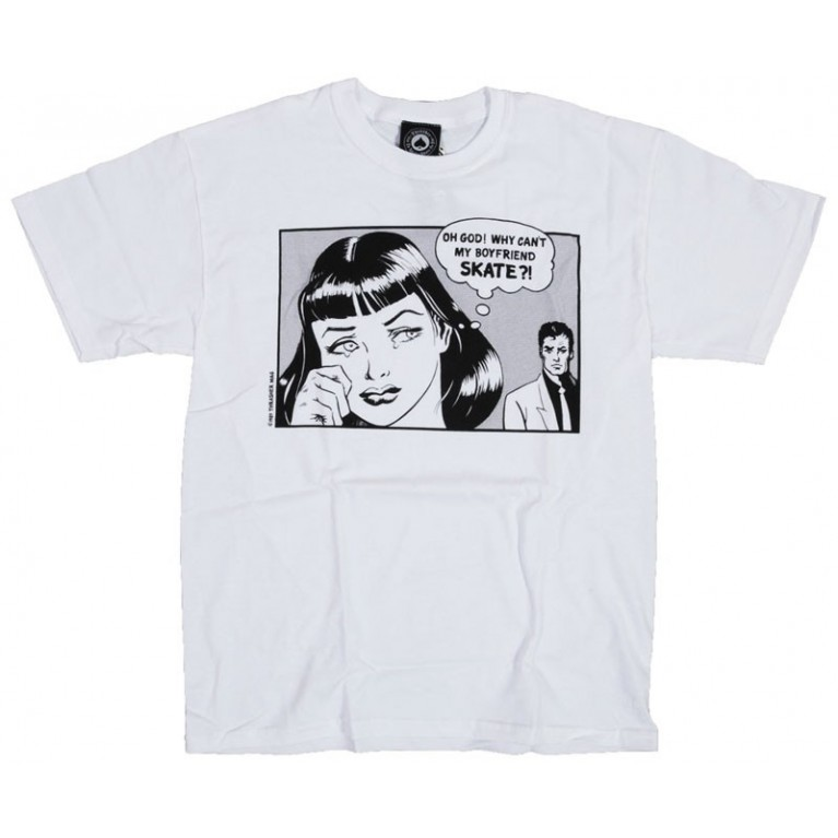 Футболка Thrasher Boyfriend T-Shirt White