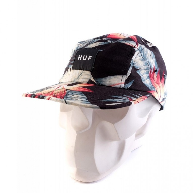 Кепка HUF Birds of Paradise Volley Black