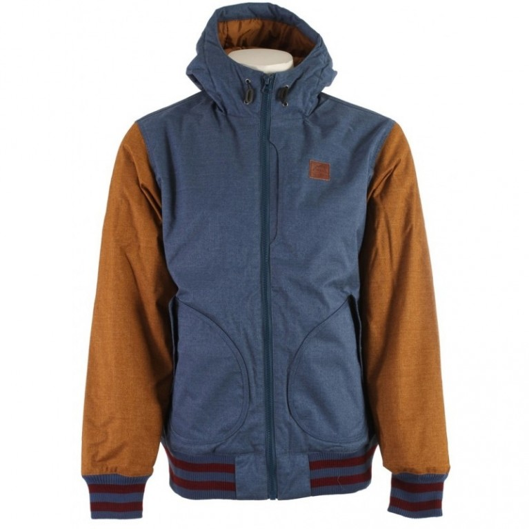 Куртка Vans Rutherford Mountain Edition Jacket Blue Rubber