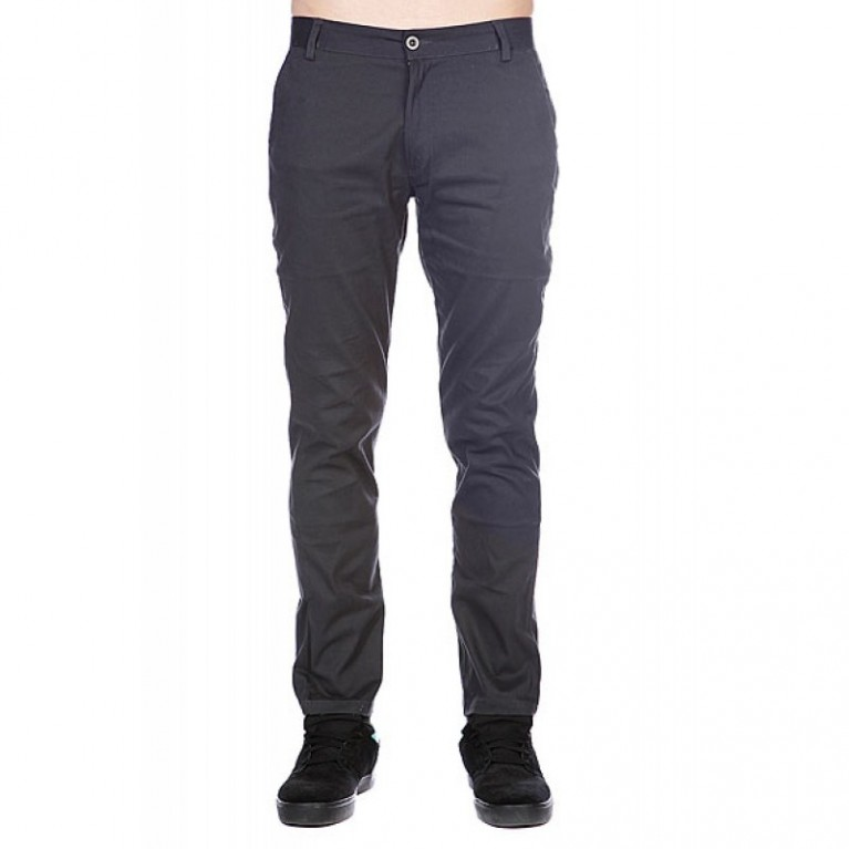 Брюки Enjoi Boo Khaki Slim Straight Dark Charcoal
