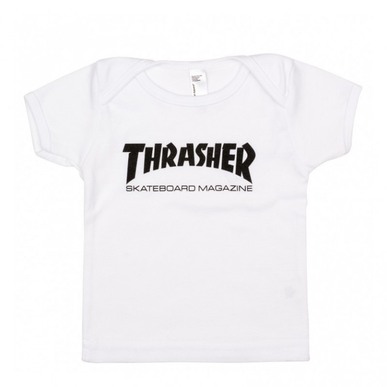 Футболка д Thrasher Infant Skate Mag White (6-12 месяцев)