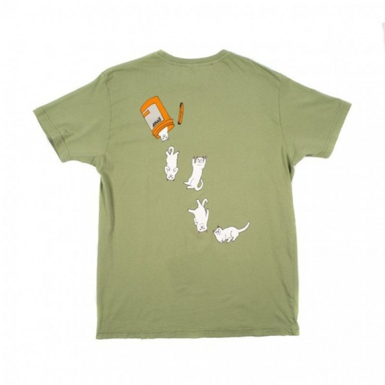 Футболка Ripndip Nermal Pills Tee Green
