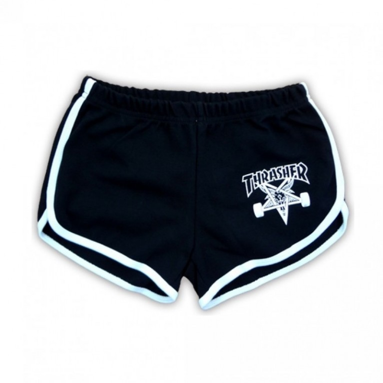 Шорты женские Thrasher Girls Skate Goat Night Shorts