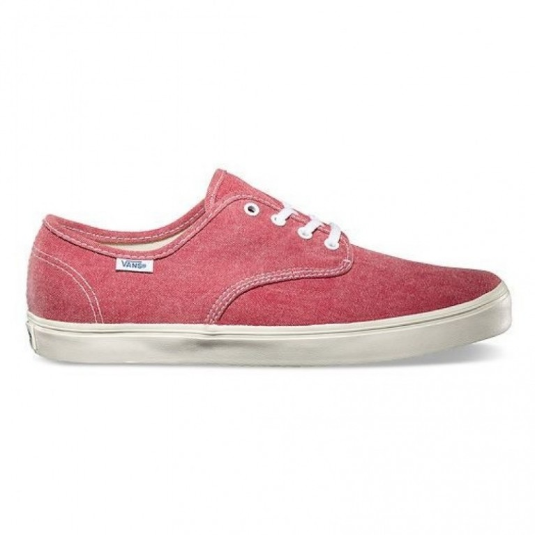 Кеды Vans Madero Red (Washed Canvas)