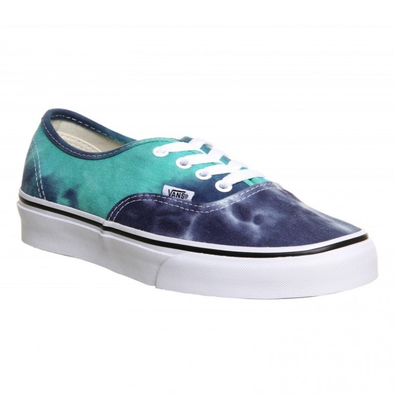 Кеды Vans Authentic Tie Dye/Navy/Turquoise