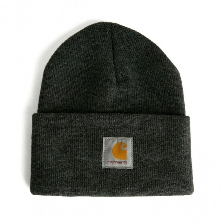 Шапка Carhartt Acrylic Watch Hat Dark Gray