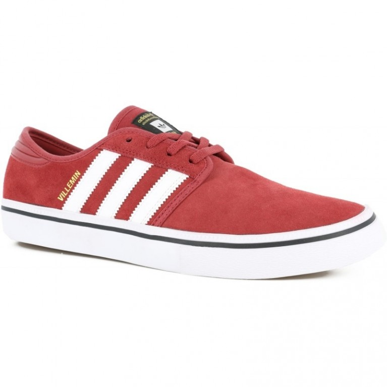 Кеды Adidas Seeley Pro Villemin nomad red/white/core black