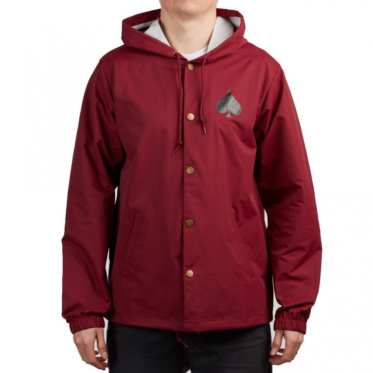 Куртка Thrasher New Oath Coach Jacket Cardinal