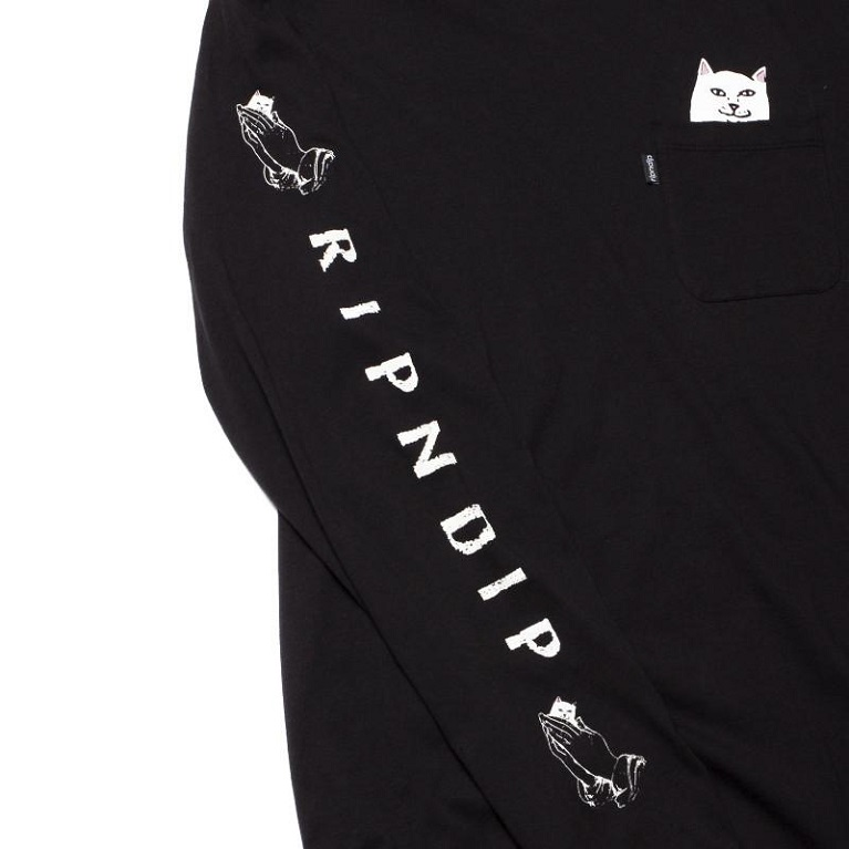 Лонгслив RIPNDIP Lord Nermal LS Black