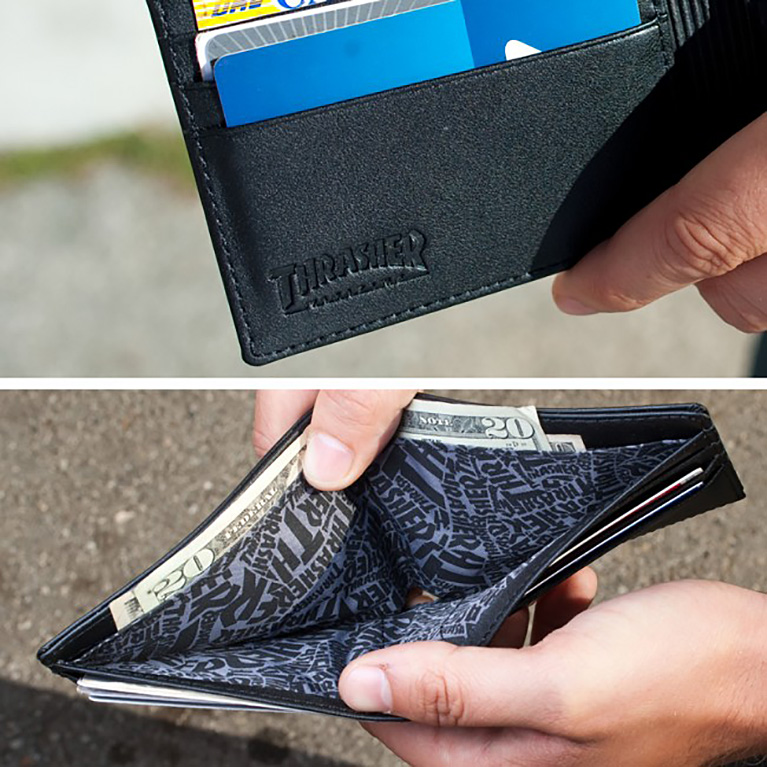 Кошелек Thrasher Skate Goat Leather Wallet