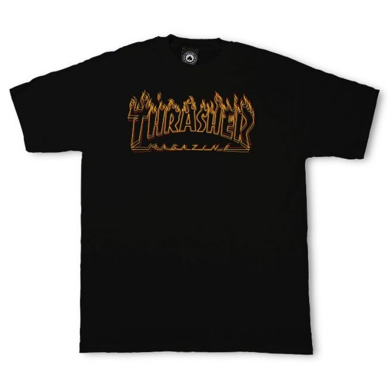 Футболка Thrasher Richter Black