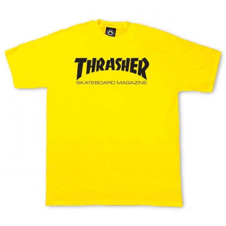 Футболка Thrasher Skate Mag Yellow