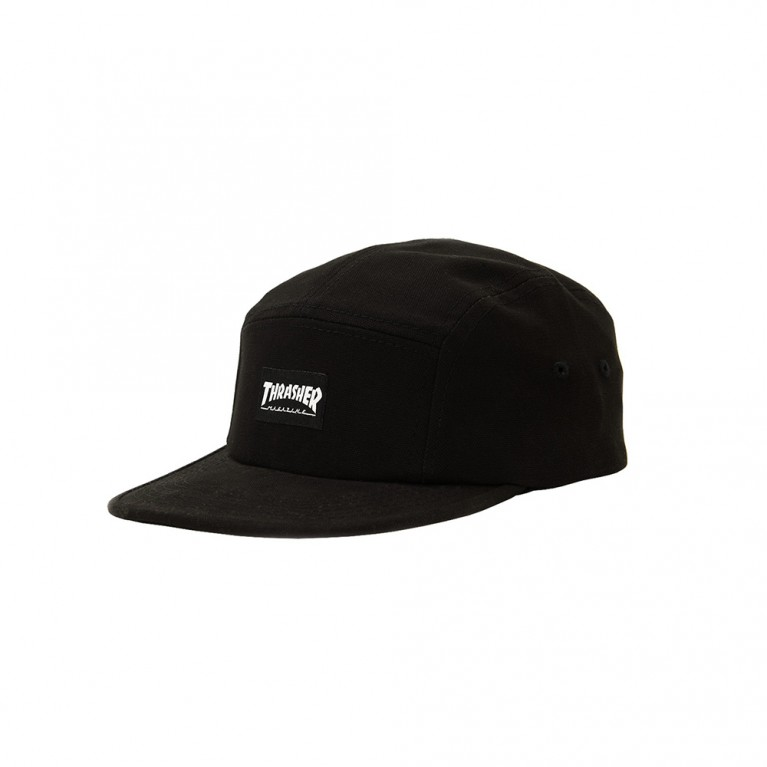 Кепка Thrasher 5 Panel Hat Black