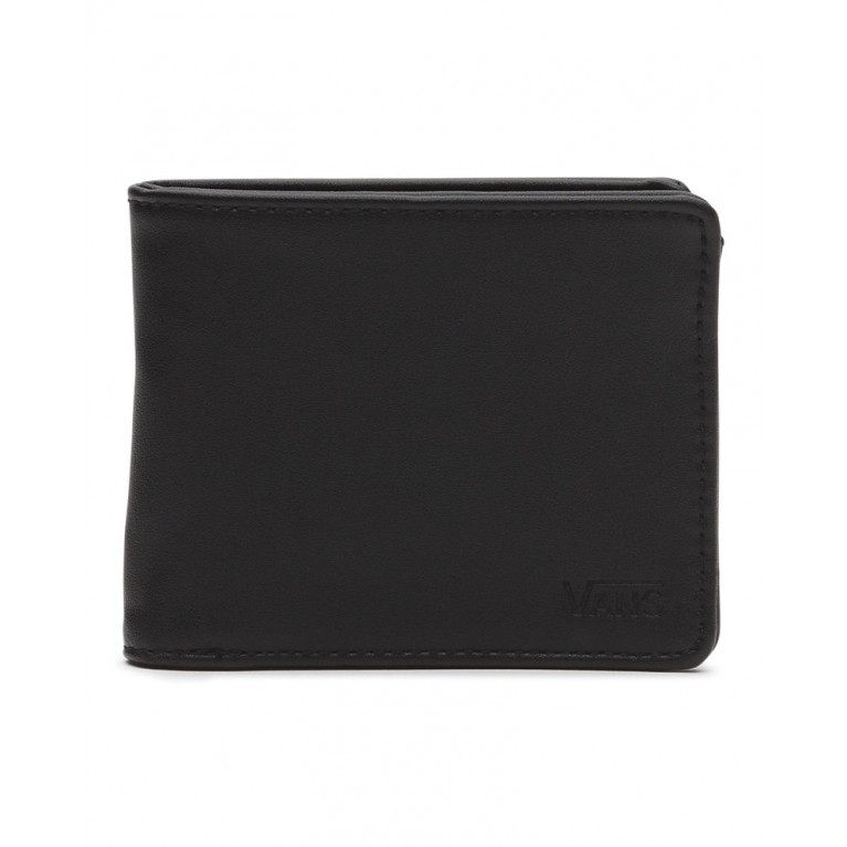 кошелек vans drop v bifold wallet black