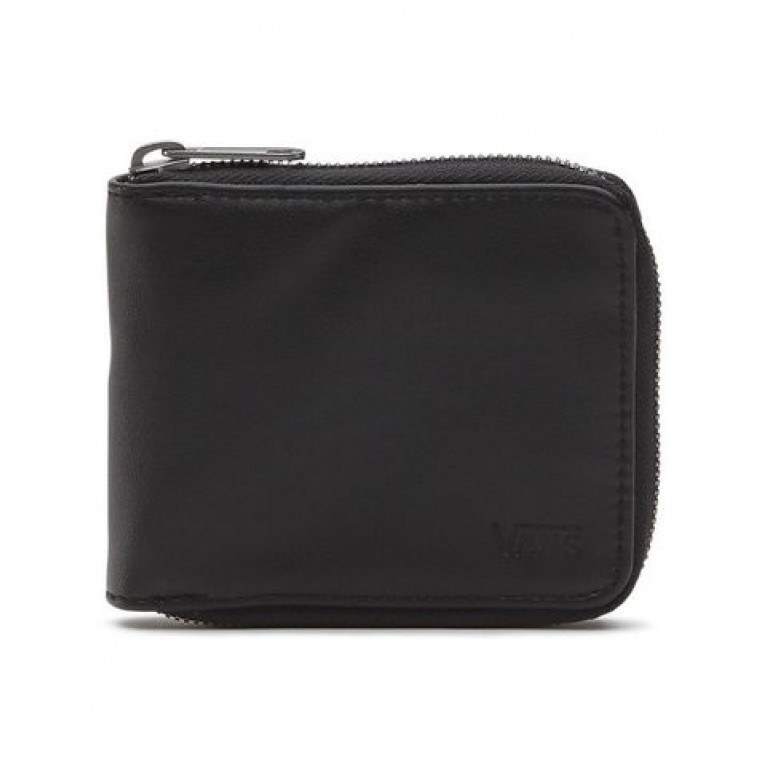 кошелек vans drop v zip wallet black