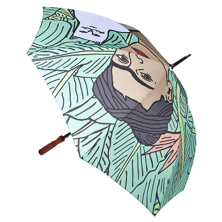 Зонтик Ripndip Nermal Leaf Umbrella