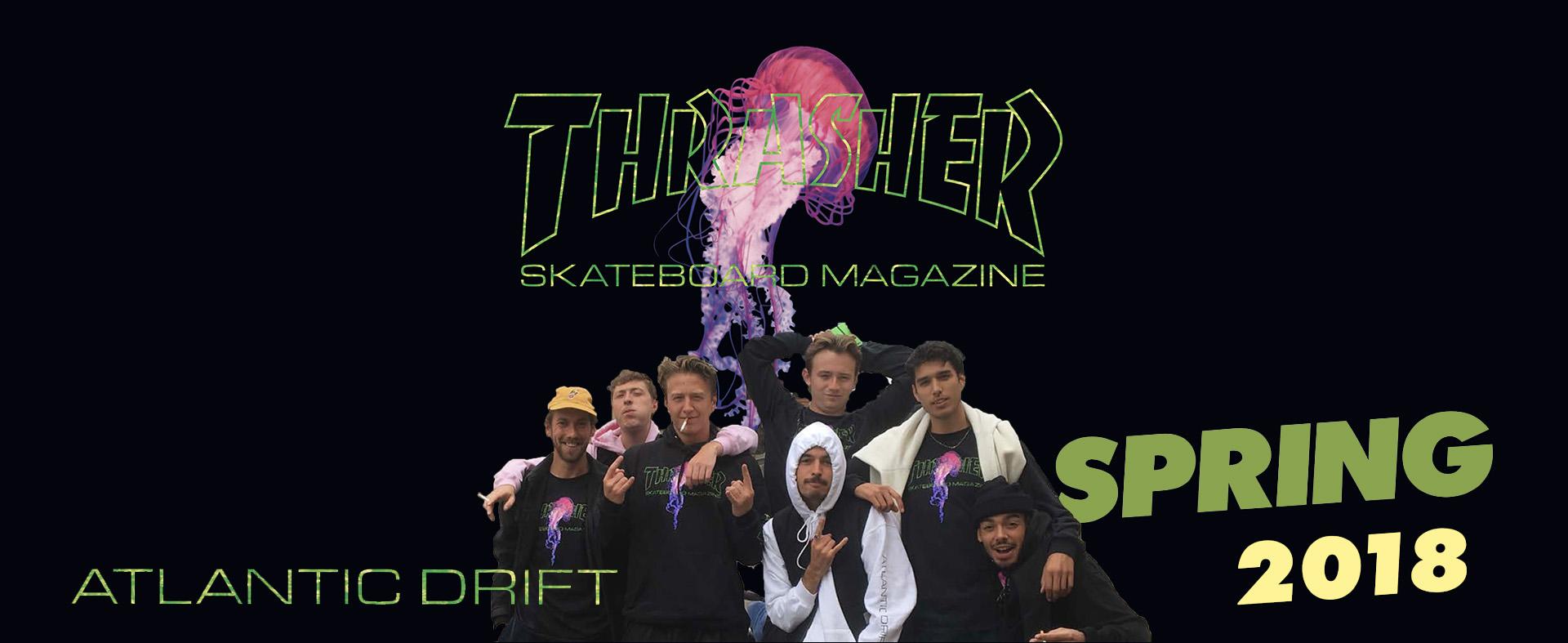 Thrasher Коллекция Spring 2018