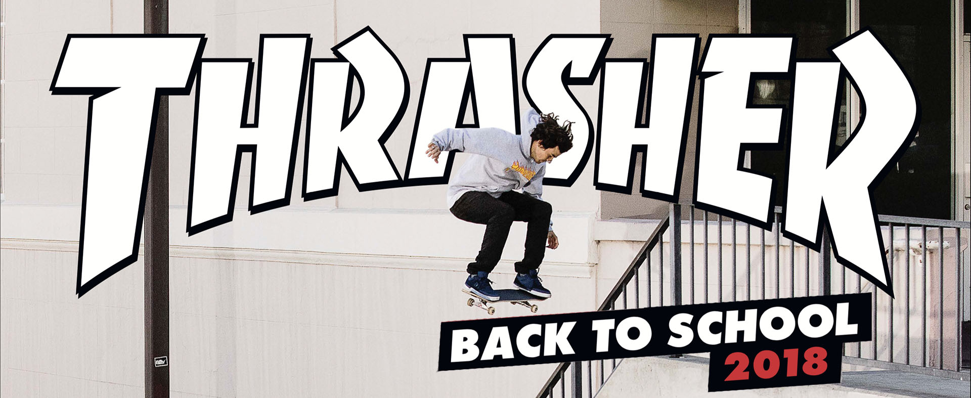 Thrasher Back To School 2018