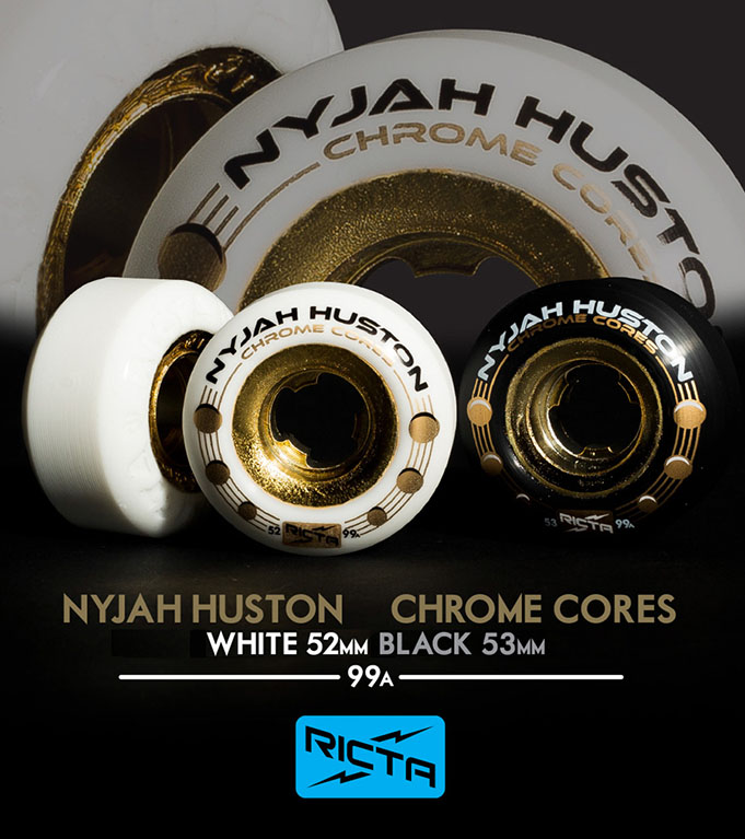 Колеса Ricta Chrome Nyjah Huston